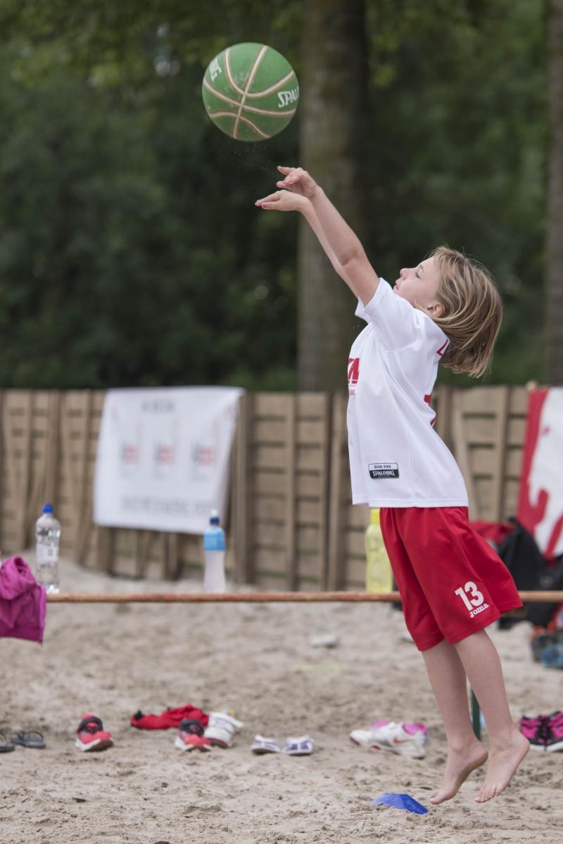 Reportage évènementiel beach basket