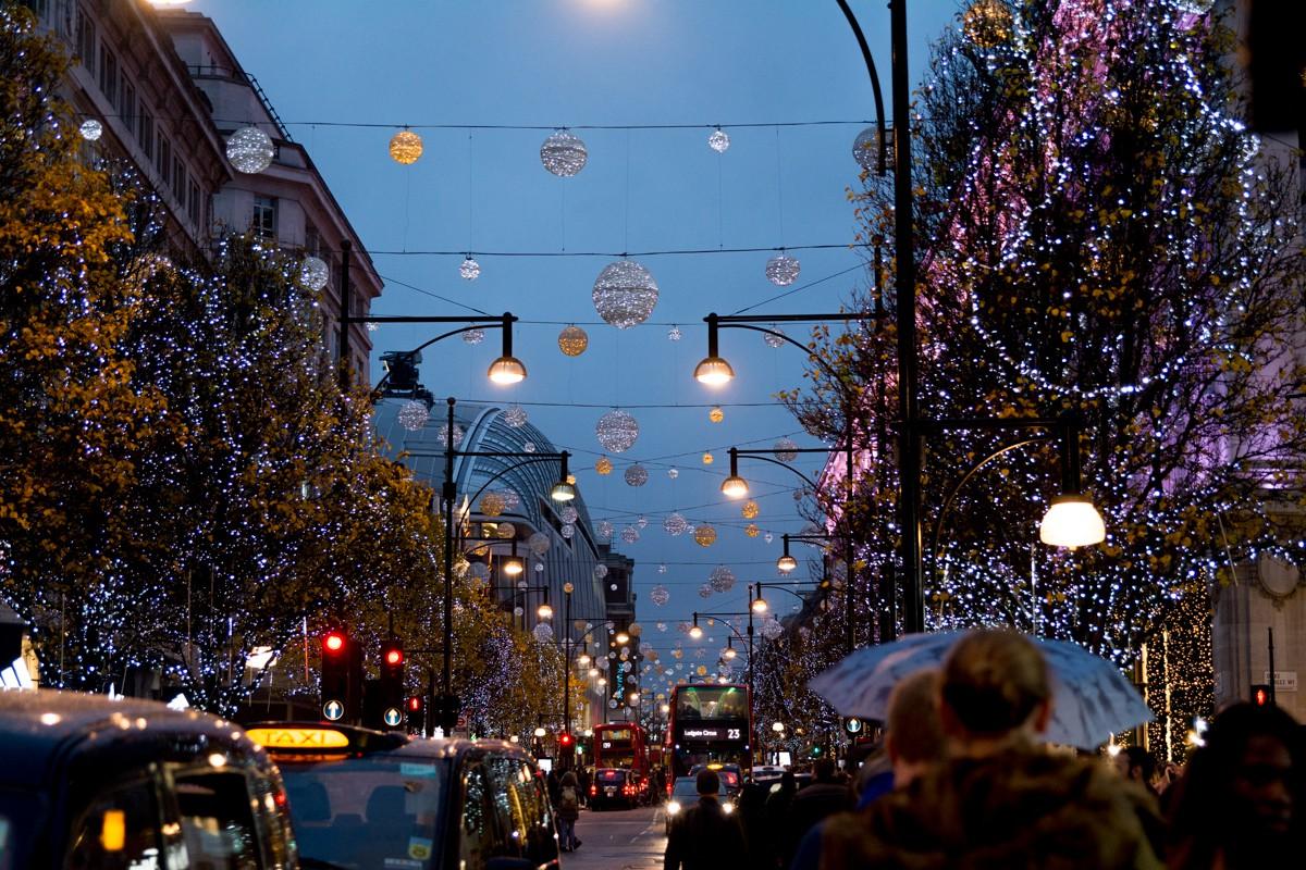 Paysage urbain - Oxford Street - Londres
