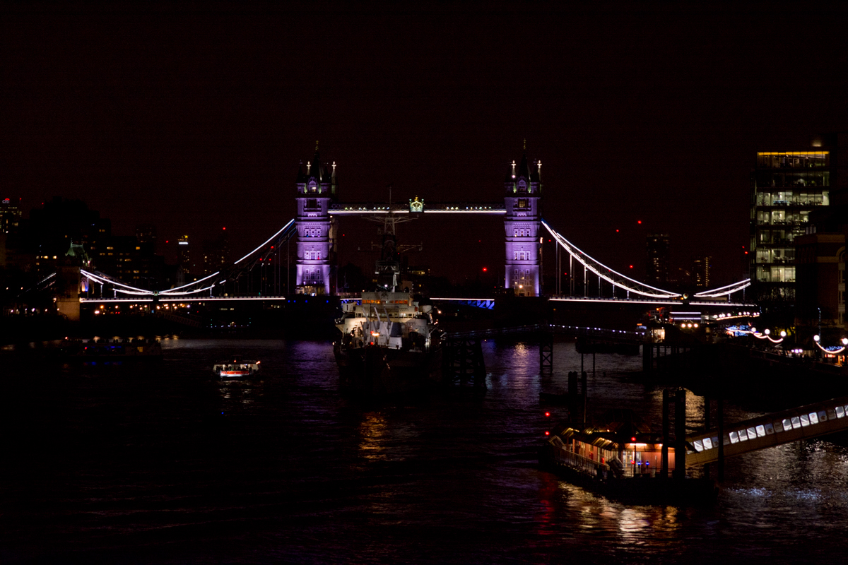 Paysage urbain - Tower bridge - Londres