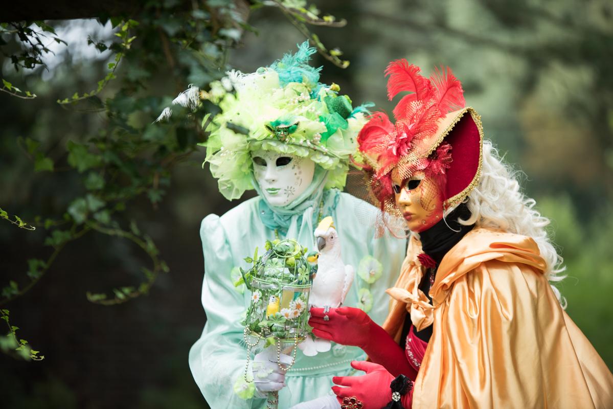 Reportage évènementiel - Les costumés de Venise