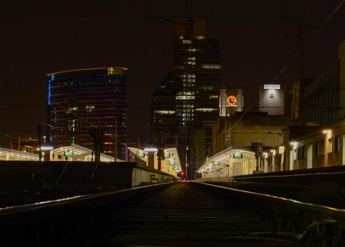 Paysage urbain - Gare du nord - Bruxelles