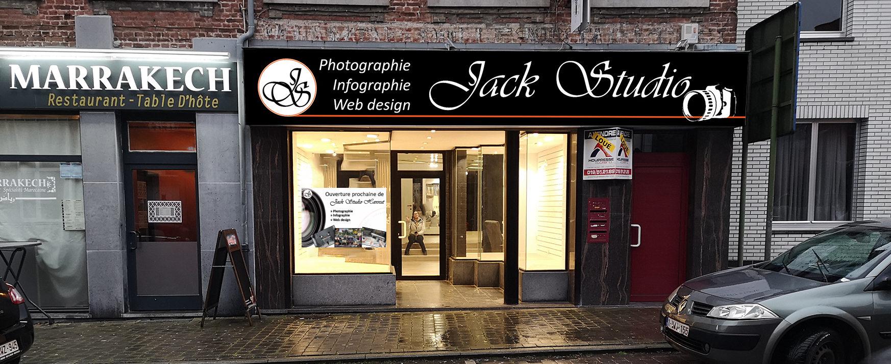 Enseigne Jack studio