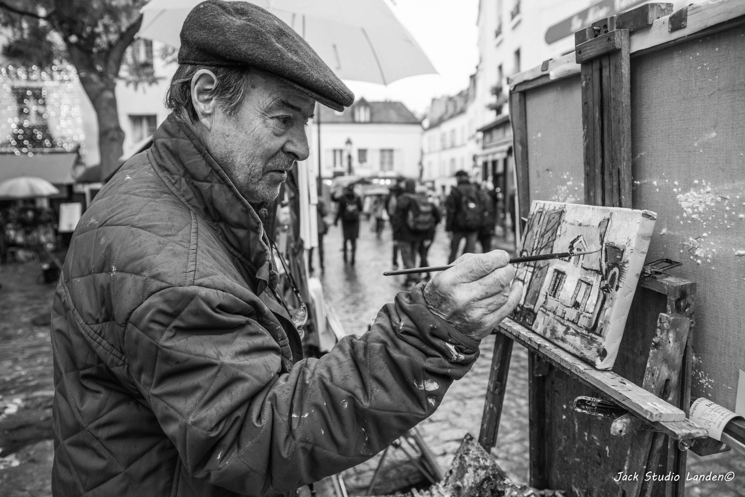 Reportage professionnel - Monmartre