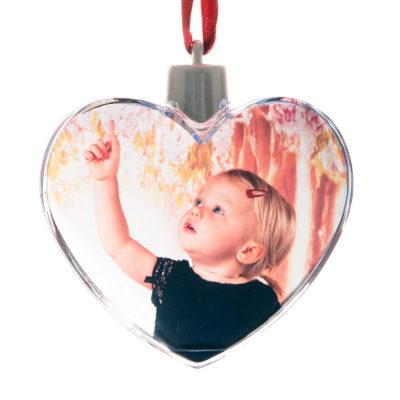 Boule de noel coeur